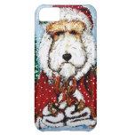 ¡Fox terrier Papá Noel!