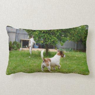 Fox_Terrier_Playtime_Lounge_Lumbar_Cushion Lumbar Pillow