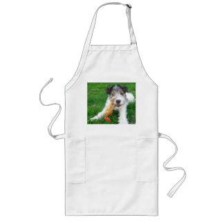 fox terrier pup.png del alambre delantal largo