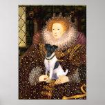 Fox Terrier  -  Queen Elizabeth Posters
