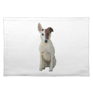 Fox Terrier Smooth dog beautiful photo placemat Cloth Place Mat