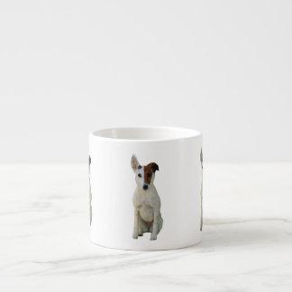 Fox Terrier Smooth dog cute photo espresso mug
