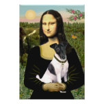 Fox Terrier Smooth -  Mona Lisa Poster