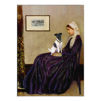 Fox Terrier Smooth -  Whistlers Mother Print