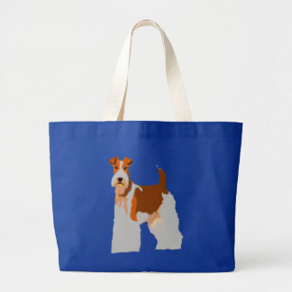 Fox terrier Totebag Bolsa Tela Grande