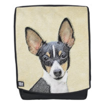 Fox Terrier (Toy) Backpack