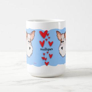 Fox Terrier Watercolor Classic White Coffee Mug