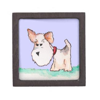 Fox Terrier Watercolor Premium Gift Boxes