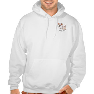 Fox Terrier Watercolor with Name Pullover