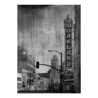 Fox Theater Oakland Poster at Zazzle