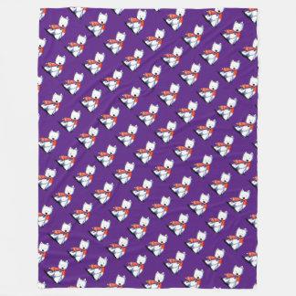 Fox Toy Westies Fleece Blanket