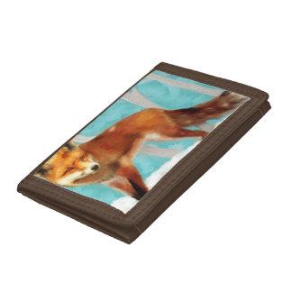 Fox Tri-fold Wallets