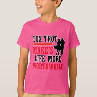 fox trot dance design T-Shirt