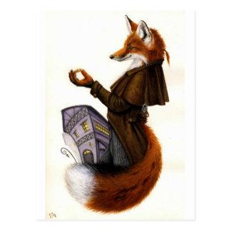 Fox-Trotte Tarjeta Postal