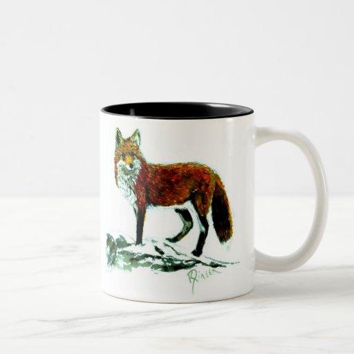 Fox Two-Tone Mug