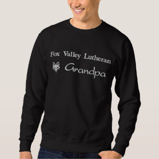 Fox Valley Lutheran Grandpa Embroidered Sweatshirt