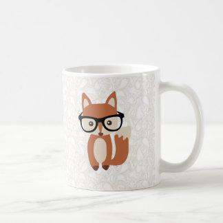 Fox w/Glasses del bebé del inconformista Taza