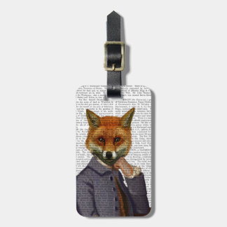Fox With Flute 2 Bag Tag