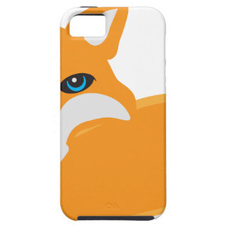 Fox with Tail Illustration iPhone SE/5/5s Case