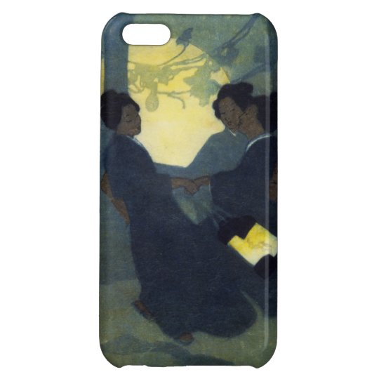 Fox women Kitsune in human form by Bertha Lum Cover For iPhone 5C