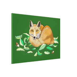 Fox Wrapped Canvas