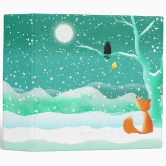 Fox y cuervo - carpeta de la carpeta