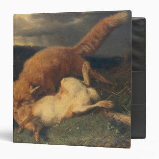 """Fox y liebres, 1866 carpeta 1 1/2"""""""