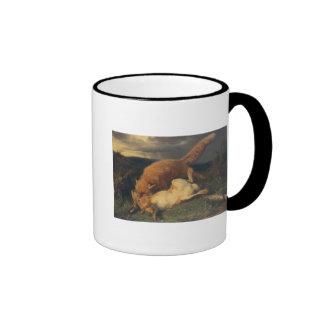 Fox y liebres 1866 tazas