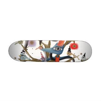 Fox y monopatín de los pájaros tablas de skate