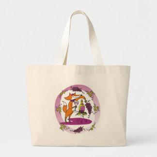 Fox y uvas: Colorete de Vin Bolsas