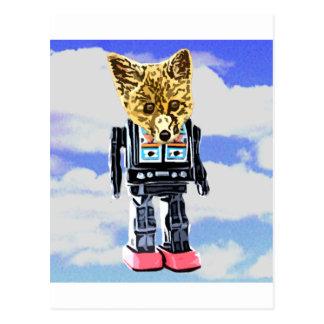 FoxBot 200 Postcard