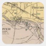 Foxcroft, Dover Calcomania Cuadradas