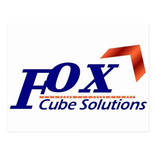FoxCube Tarjeta Postal
