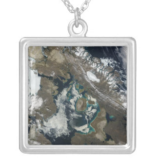 Foxe Basin, Northern Canada Silver Plated Necklace