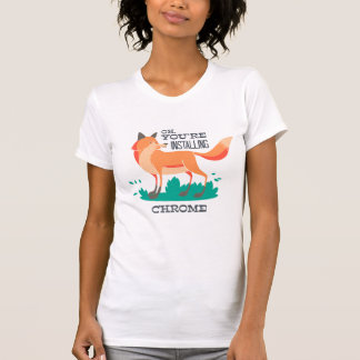 Foxed T Shirt