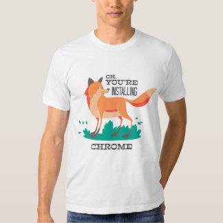 Foxed Tee Shirt