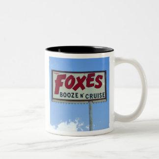 FOXES BOOZE N' CRUISE - Mug