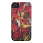 Foxes by Franz Marc, Vintage Abstract Cubism Case-Mate iPhone 4 Case