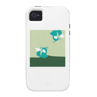 Foxes iPhone 4 Cover