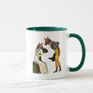 Foxes Courting Mug