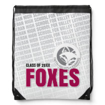 Foxes, Foxes, Foxes - FVL FOXES! Drawstring Bag