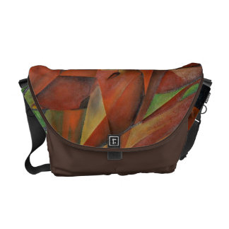 """""""Foxes"""" -  Homage to Franz Marc (1913) Courier Bag"""