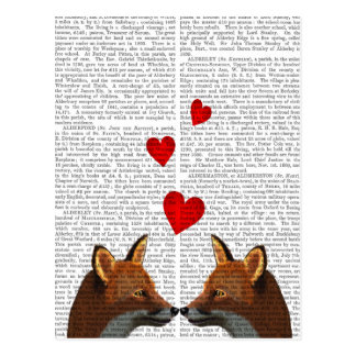 Foxes in Love Postcard