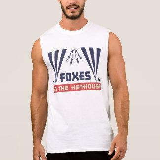 Foxes in the Henhouse Sleeveless Shirt