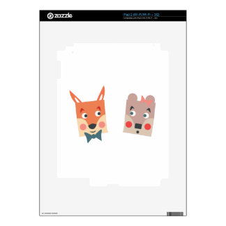 Foxes iPad 2 Skins