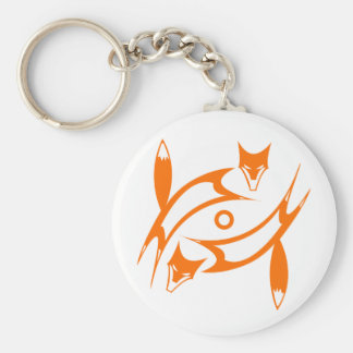 Foxes Keychain