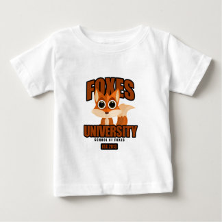 Foxes University Baby T-Shirt