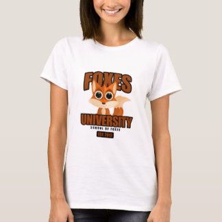 Foxes University T-Shirt