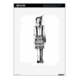 Foxgirl iPad 3 Skin