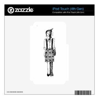 Foxgirl iPod Touch 4G Skins